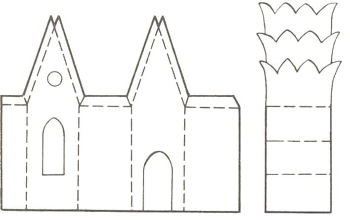 Замок дом своими руками