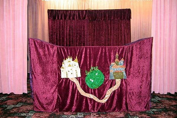 Ширма для кукольного театра напольная своими руками