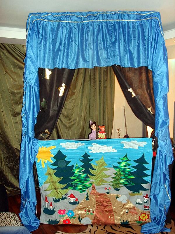 Ширма для кукольный театр своими руками фото 28